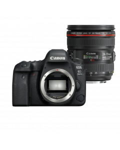 Зеркальная камера EOS 6D Mark II + объектив EF 24-70mm f/4L IS USM